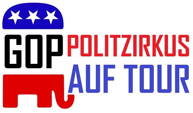 GOP - Politzirkus auf Tour - Logo