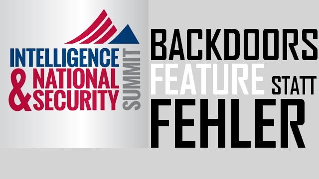 Backdoors - Feature statt Fehler - Logo