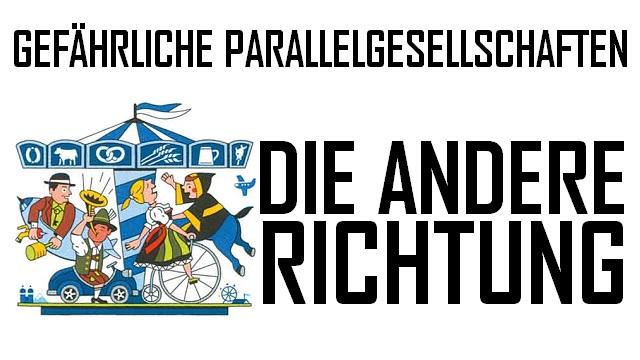 Gefährliche Parallelgesellschaften - Logo