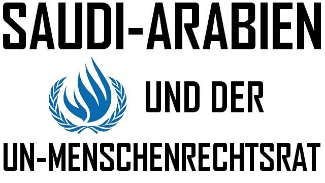 Saudi-Arabien und der UN-Menschenrechtsrat - Logo