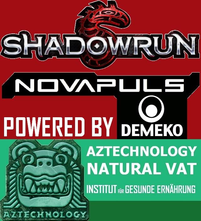 SR5 - Novapuls powered by Aztech - Natural Vat - Logo