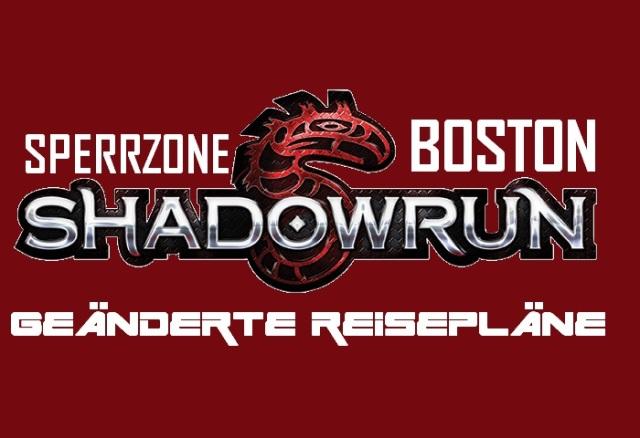 SR5 - Sperrzone Boston - Geänderte Reisepläne - Logo