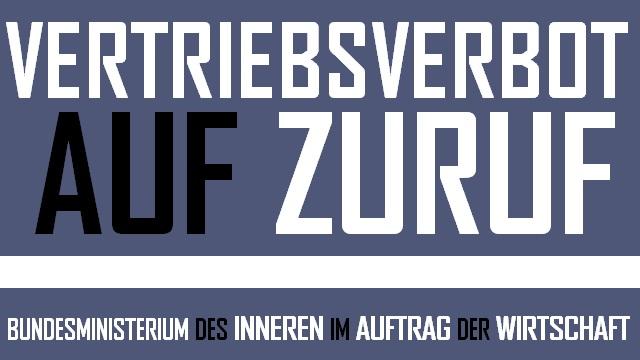 Vertriebsverbot auf Zuruf - logo
