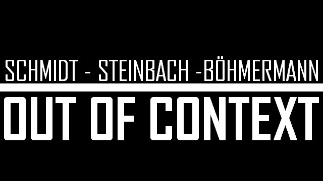 Schmidt Steinbach Böhmermann - Out of Context - Logo