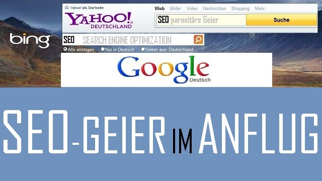 SEO-Geier im Anflug - Logo