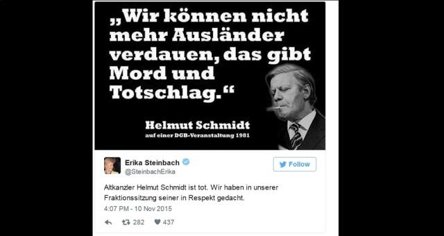 Steinbach - Schmidt-Zitat - Out of Context