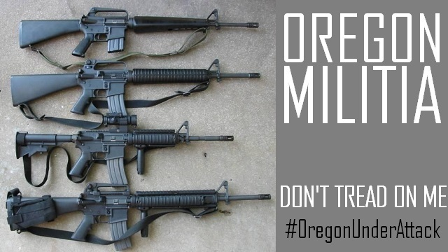 Oregon Militia - Logo
