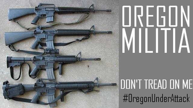 Oregon Militia - Logo