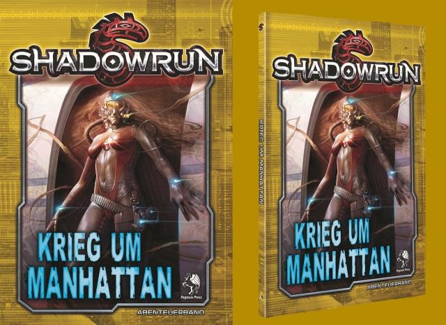 SR5 - Krieg um Manhattan Cover 2D3D - (dark yellow)