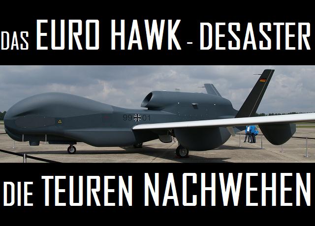 Euro Hawk Desaster - Die teuren Nachwehen - Logo