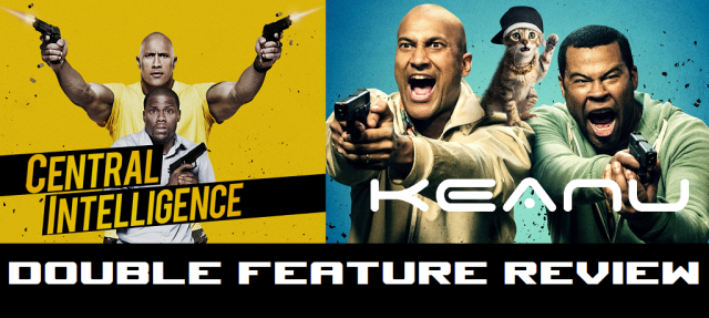 Double Feature Review - Central Intelligence - Keanu - Logo