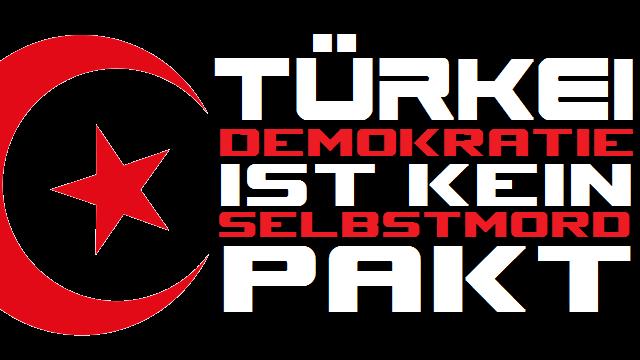 Türkei - Demokratie - kein Selbstmordpakt - Logo