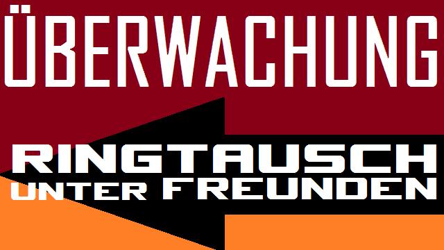 Überwachung - Ringtausch unter Freunden - Logo