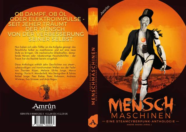 Menschmaschinen - Cover -Front and Back