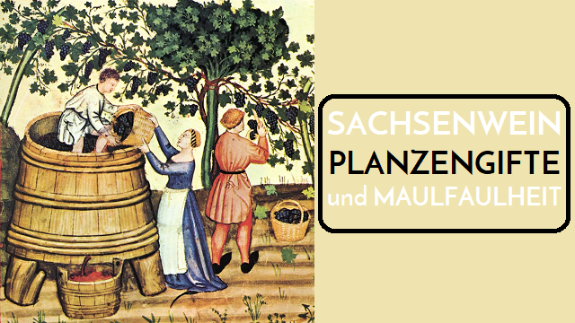 Sachsenwein Pflanzengifte und Maulfaulheit - Logo