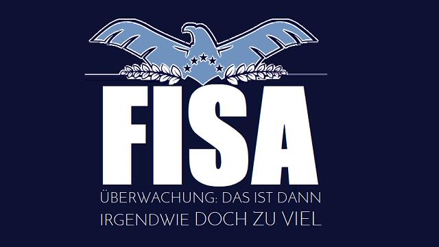 Überwachung - Das ist dann irgendwie doch zu viel - Logo