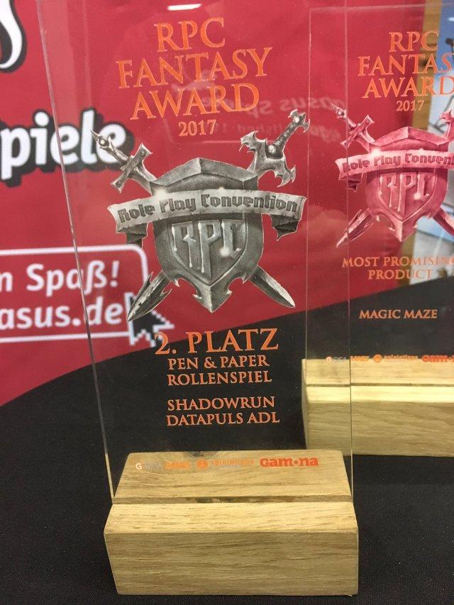 SR5 - RPC Fantasy Award 2017 - zweiter Platz Datapuls ADL