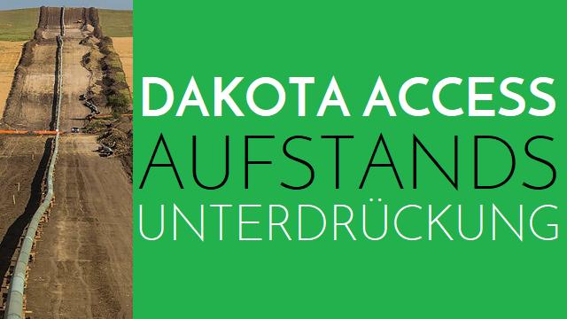 Dakota Access - Aufstandsunterdrückung - Logo