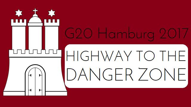 G20 Hamburg 2017 - Highway to the Danger Zone - Logo