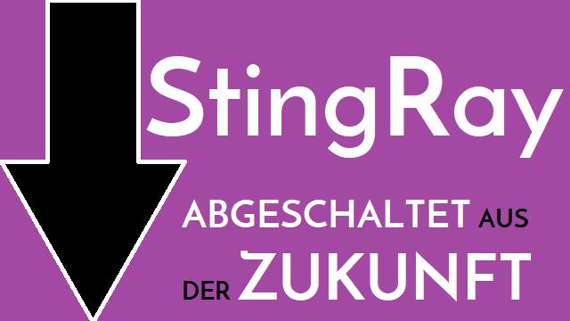 StingRay - Abgeschaltet aus der Zukunft - Logo