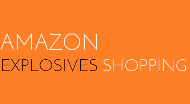 Amazon - Explosives Shopping - Logo