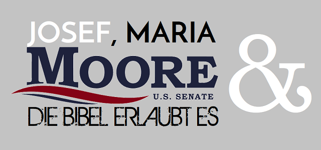 Josef - Maria - Moore - Die Bibel erlaubt es - Logo