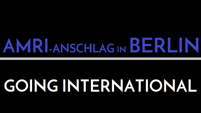 Anschlag Amri Berlin - Going International - Logo