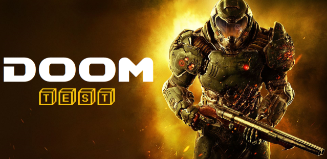 Test - Doom (2016) - Logo