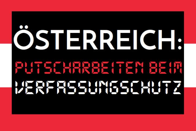 Österreich - Putscharbeiten beim Verfassungsschutz - Logo