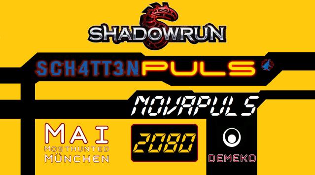 Novapuls -Schattenpuls - Mai 2080 - Mai Mosthunted München - Logo