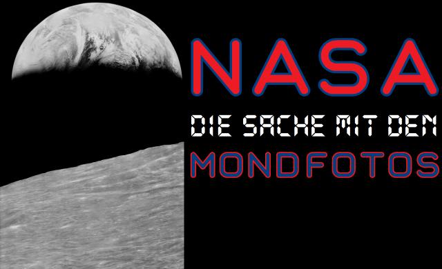 NASA - Die Sache mit den Mondfotos - Logo