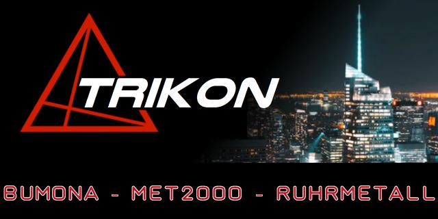 TRIKON - Logo - Stadt Background