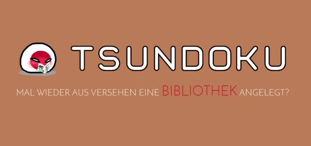 Tsundoku - Bibliothek angelegt - Logo