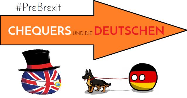 Chequers und die Deutschen - Cover