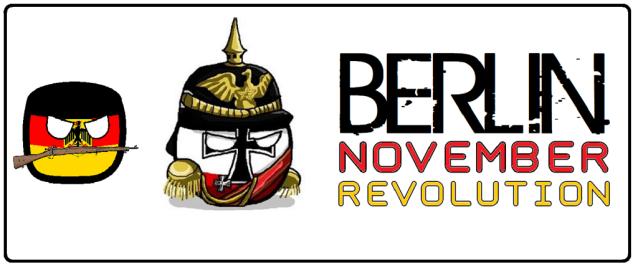 Berlin - Novemberrevolution - Logo