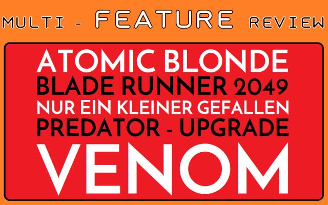 MFR - Atomic Blonde - Blade Runner 2049 - Nur ein kleiner Gefallen - Predator Upgrade - Venom - Logo