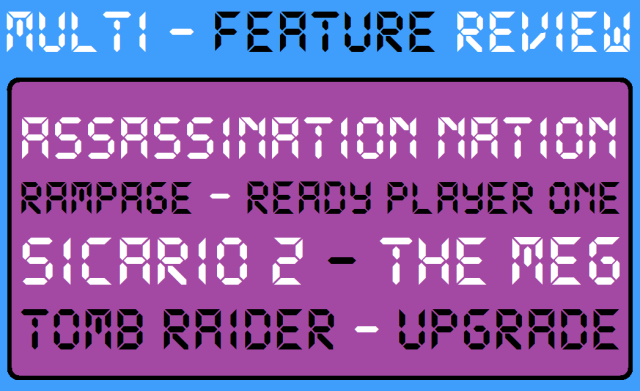 Multi - Feature Review - AN - Rampage - RPO - Sic2 - MEG - Tomb Raider - Upgrade - Logo