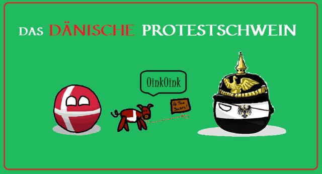 Das Dänische Protestschwein - Logo