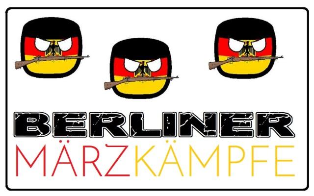 Berliner Märzkämpfe - Logo