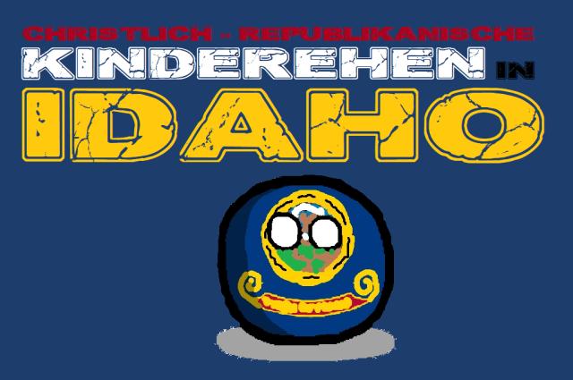 Christlich - Republikanische Kinderehen in Idaho - Logo