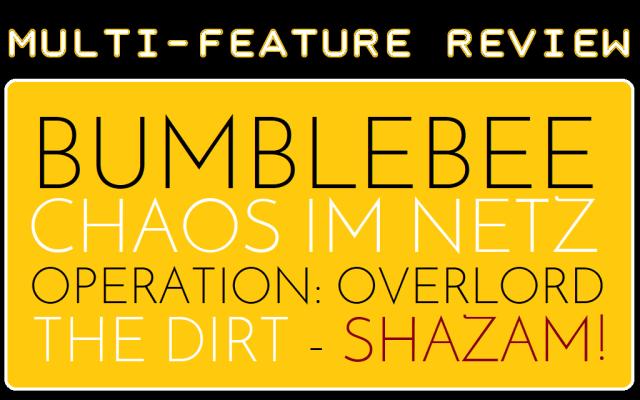 MFR - Bumblebee - Chaos im Netz - Overlord - Dirt - Shazam - Logo