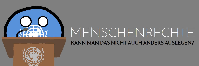 Menschenrechte - anders auslegen - Logo