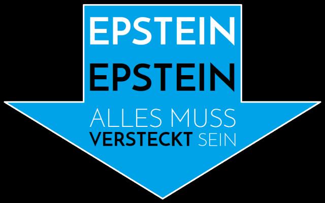 Epstein - Alles muss versteckt sein - Logo