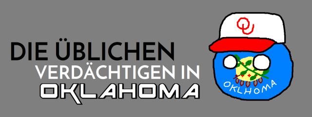 Die üblichen Verdächtigen in Oklahoma - Logo