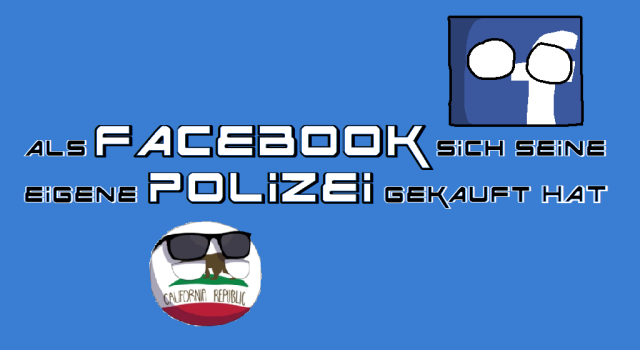 Facebook - Polizei - Kalifornien - Logo