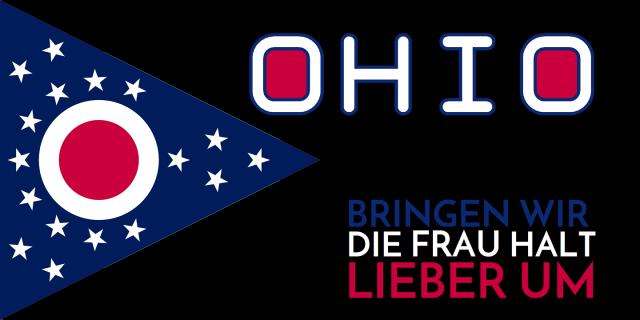 Ohio - Bringen wir die Frau halt lieber um - Logo