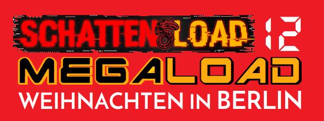 Schattenload 12 - Megaload - Weihnachten in Berlin - Logo