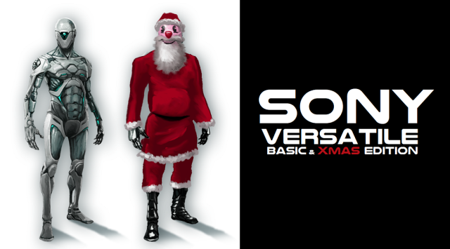 Sony Versatile Drohne - XMAS Edition - by AAS