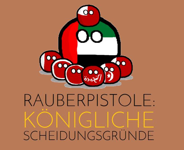 Räuberpistole - Königliche Scheidungsgründe - Logo