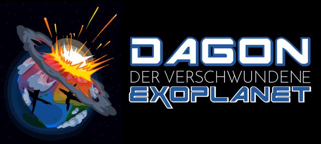 Dagon - Der verschwundene Exoplanet - Logo